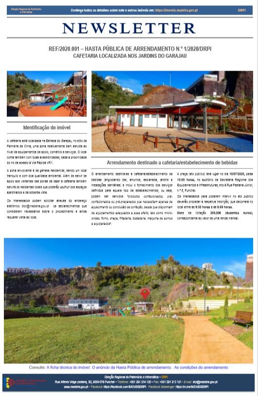 Newsletter N.º 1/2020/DRPI